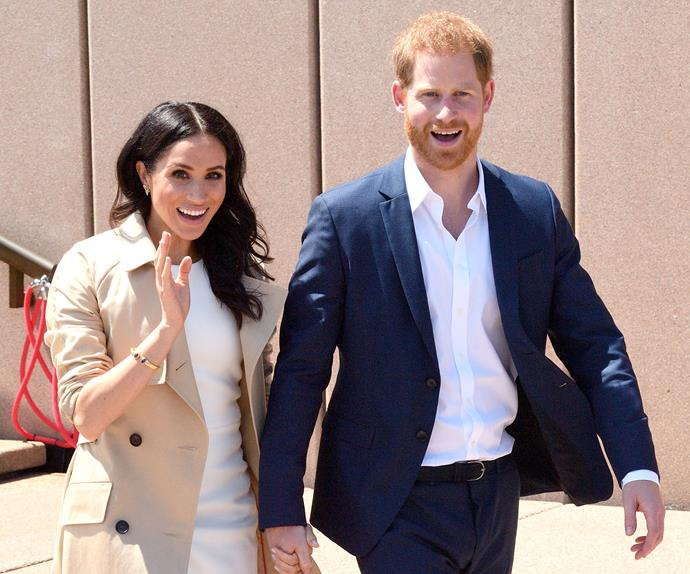 Prince Harry Meghan Markle Pregnancy Response