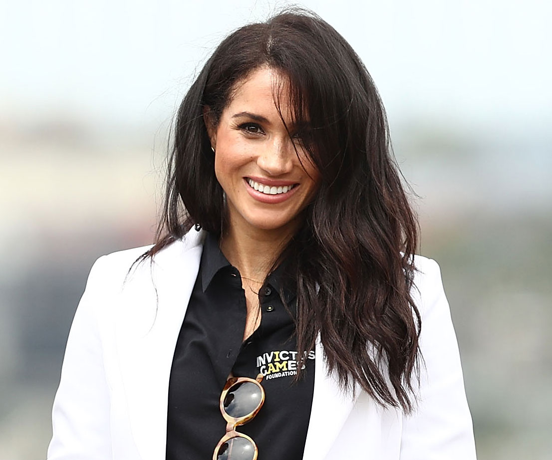 Meghan Markle looked like a true princess landing in Fiji this morning