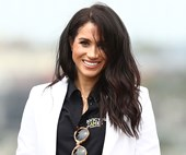 Meghan Markle Just Wore Sneakers For The Very First Time