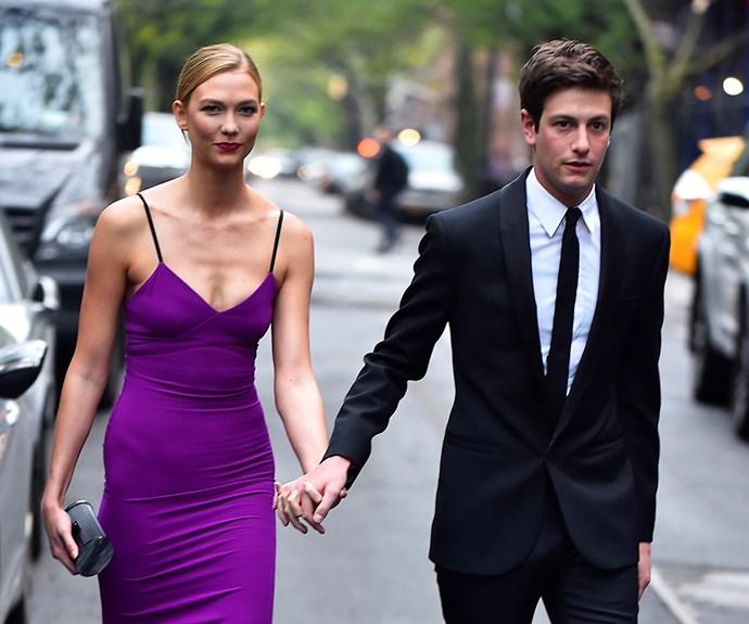 Karlie Kloss and Joshua Kushner.