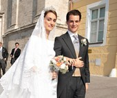 This German Royal Couple Just Tied The Knot In A Decadent Castle Ceremony