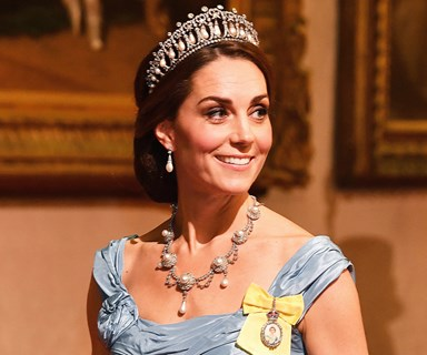 Kate Middleton Has A Tiara Moment In Alexander McQueen
