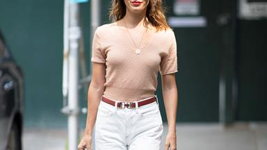 8 Pairs Of White Jeans To Invest In For The Summer