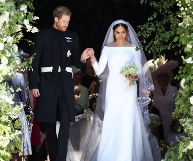 Meghan Markle Opens Up About Designing Her Wedding Dress