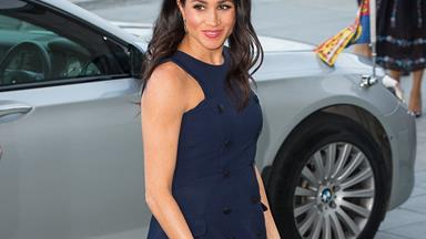 Meghan Markle Opts For A Royal Re-Wear In Auckland