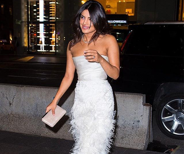 Priyanka Chopra Defends Her Decision To Wear A Marchesa Dress To Her Bridal Shower