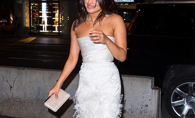Priyanka Chopra Defends Her Decision To Wear A Marchesa Dress To Her Bridal Shower