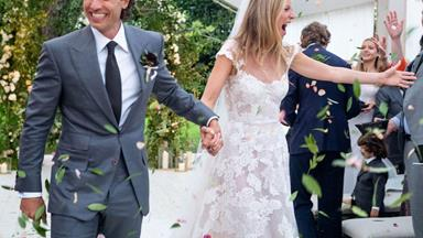 Gwyneth Paltrow Shares The First Photos Of Her Wedding Dress