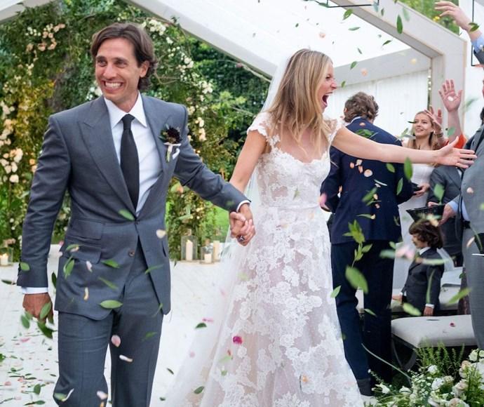 gwyneth paltrow wedding dress