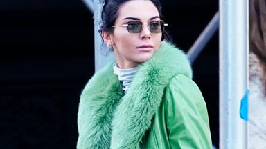 Kendall Jenner Wears A $3,500 Coat To Bike Ride Around The City
