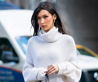 bella hadid victoria's secret fittings