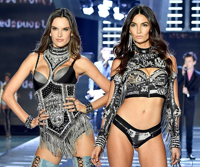 Alessandra Ambrosio and Lily Aldridge.