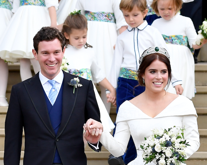 See Princess Eugenie's Royal Wedding Thank You Cards