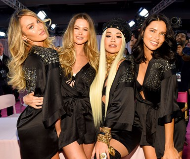Every Glamorous Backstage Shot From The 2018 Victoria's Secret Fashion Show