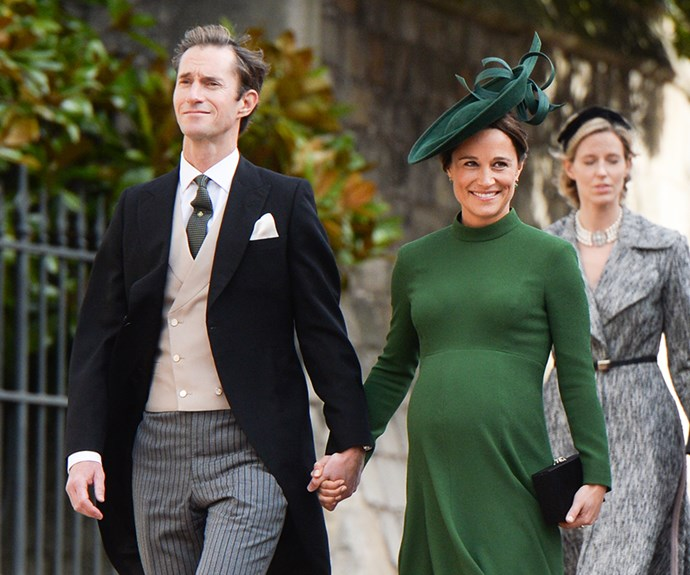 Pippa Middleton and James Matthews.