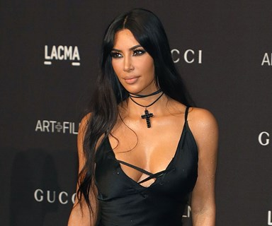 Every Time Kim Kardashian Has Worn Vintage Designer Fashion