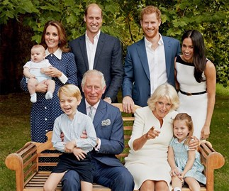Kate Middleton royal family portrait.