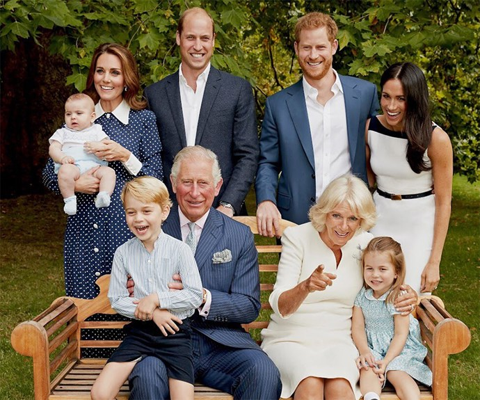 Kate Middleton royal family portrait.