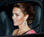The Duchesses Of Cambridge And Sussex Step Out For Prince Charles' 70th Birthday