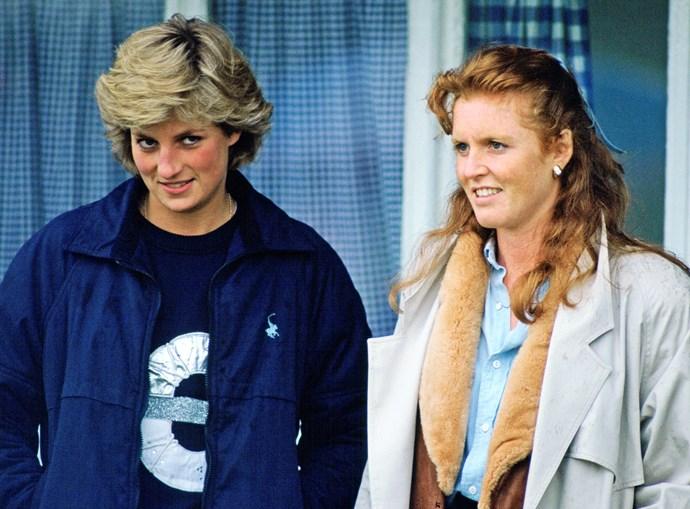 Sarah Ferguson Princess Diana