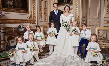 Princess Eugenie Releases A Never-Before-Seen Portrait From Her Wedding