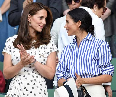 Buckingham Palace Issues A Rare Statement On Kate Middleton And Meghan Markle Feud Rumours