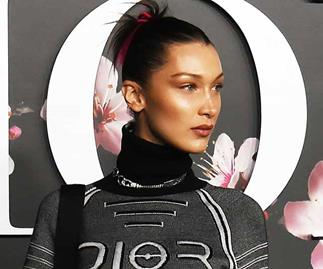 Bella Hadid Shows Off New Pink Hair At Dior Homme Show In Tokyo