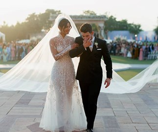 Priyanka Chopra wedding dress
