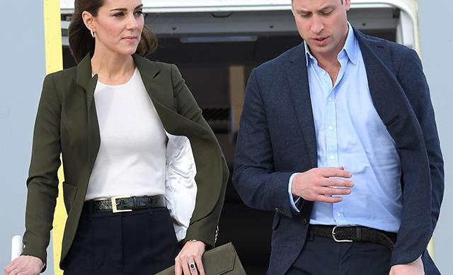 Kate Middleton Wears A Rare Pair Of Wide-Leg Pants