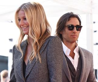 Gwyneth Paltrow And Brad Falchuk Were Twinning For Their First Appearance As Newlyweds