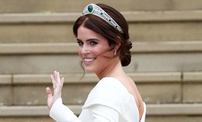 Princess Eugenie Debuts A Post-Wedding Hair Change