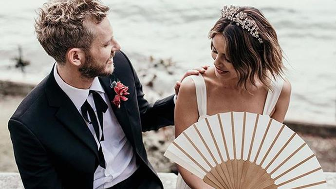 Real Bride: Nathalie Kelley And Jordan Burrows