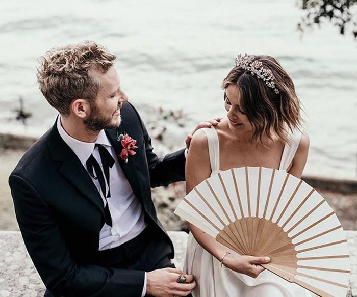 Real Bride: Nathalie Kelley And Jordan Burrows