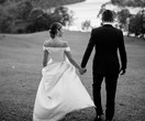 Real Bride: Anna And Tomi's Stylish Country Affair