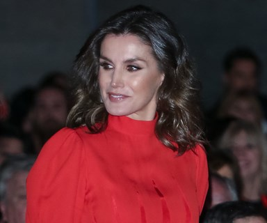 Queen Letizia Just Re-Wore A Dress Originally Worn By Her Mother-In-Law