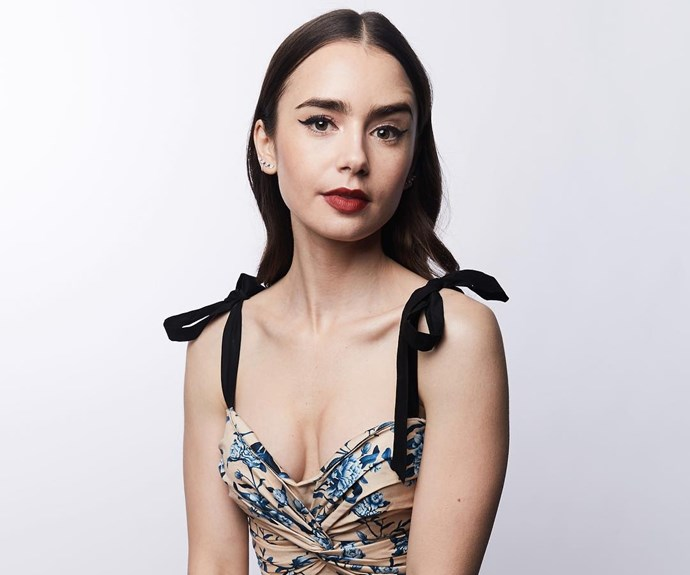 Lily Collins.