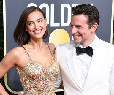 Bradley Cooper And Irina Shayk Just Made Their Awards Season Debut At The Golden Globes