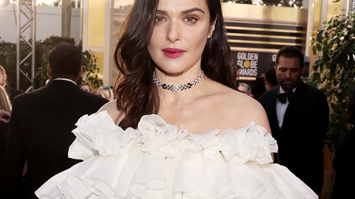 Rachel Weisz at the 2019 Golden Globes.