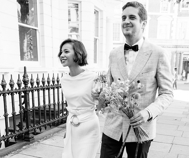 Real Bride: Coralie and Sam's Multi-Country Celebration