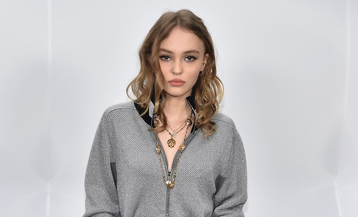 Lily-Rose Depp Looks Exactly Like Her Mother Vanessa Paradis In A Bold Chanel Dress