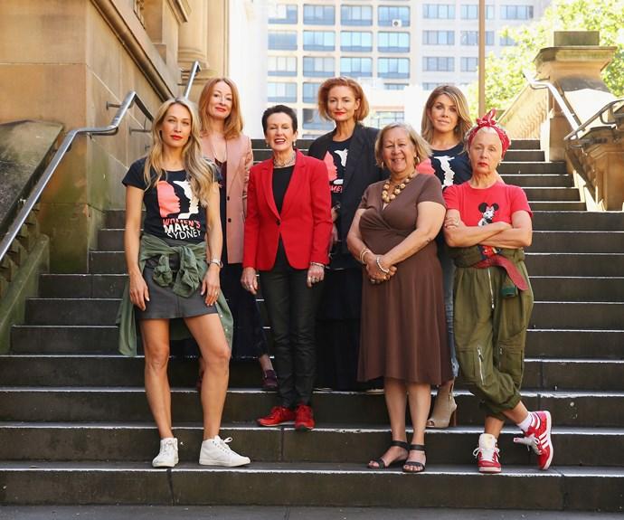 Women's March celebrities