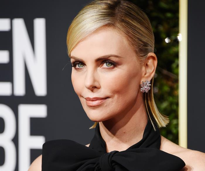Charlize Theron Golden Globes
