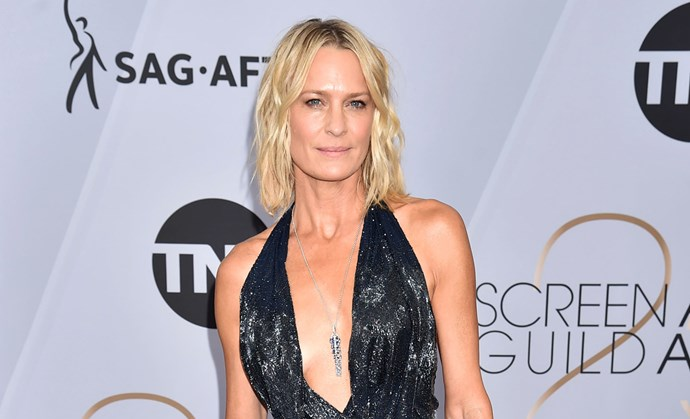 Robin Wright Looked Insanely Fit On The SAG Awards Red Carpet
