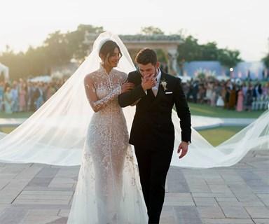 Priyanka Chopra Wears Another Wedding Dress For Her Third Reception