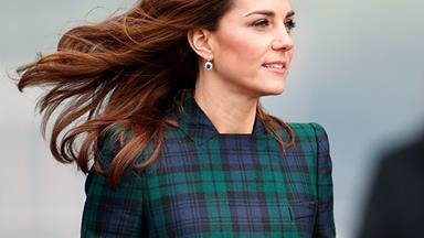 Kate Middleton's Sapphire Earrings Are A Sweet Tribute To Princess Diana