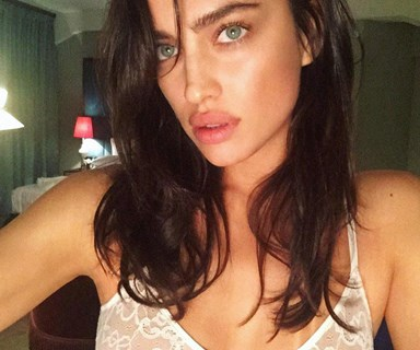 16 Photos That Prove Irina Shayk Is The Undisputed Queen Of The Nearly-Naked Selfie