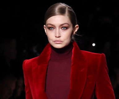 Gigi Hadid Just Channeled One Of The Most Iconic Moments In Fashion At Tom Ford