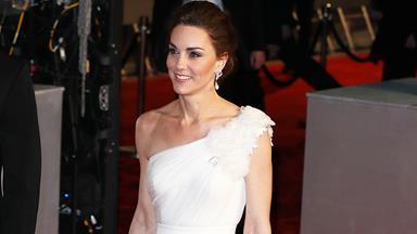 Kate Middleton's Touching Tribute To Princess Diana At The 2019 BAFTAs