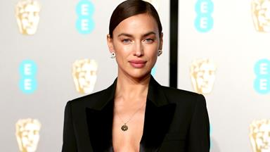 Irina Shayk Just Wore The Sexiest Suit To The BAFTAs