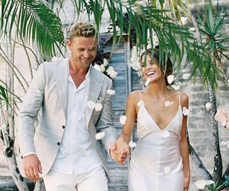 Real Bride: Romi And Wayne's Relaxed, Tropical 'Micro-Wedding' In Byron Bay